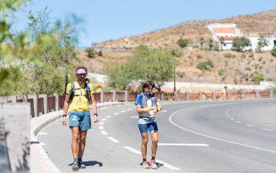 Luca Papi y Claire Bannwarth preparan el Desafío 360º con el Gran Canaria Non Stop