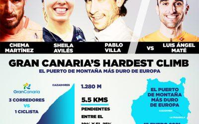 Llega Gran Canaria'sHardest Climb, un espectacular reto en el puerto de montaña más duro de Europa